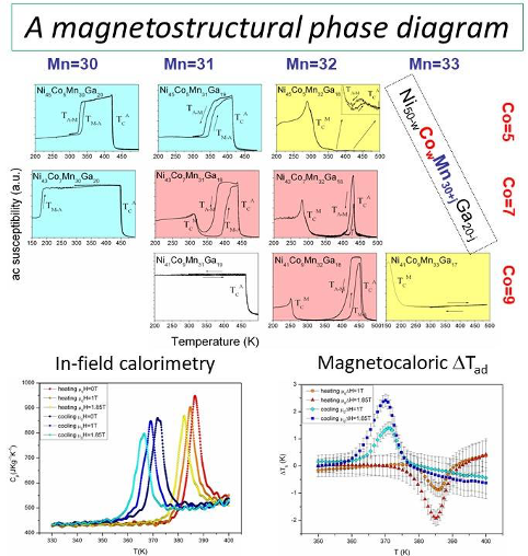 Magnetic phase diagram